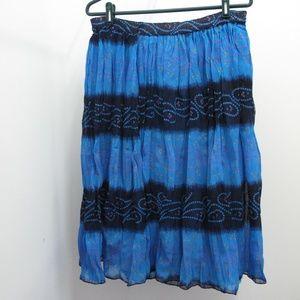 Dresses & Skirts - 3/$35 Blue Indian Skirt